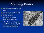 marburg basics