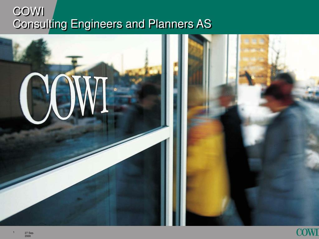 cowi consulting engineers and planners as l.