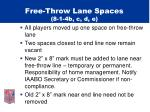 free throw lane spaces 8 1 4b c d e