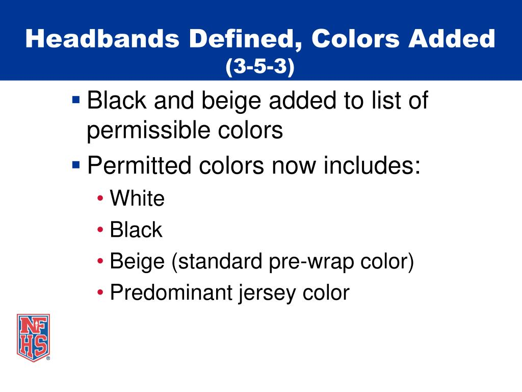 Headbands Defined, Colors Added