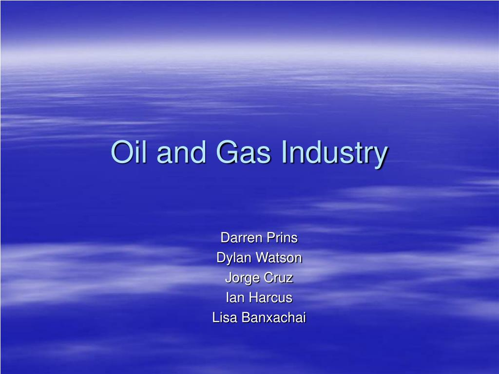 oil and gas industry l.