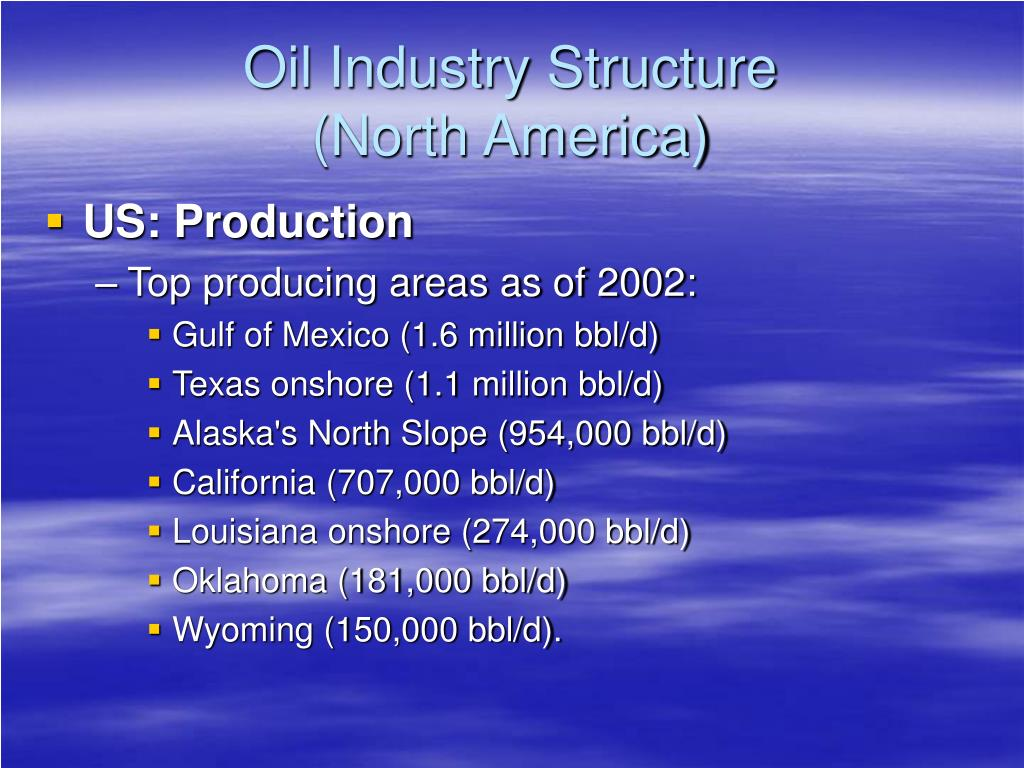 PPT - Oil and Gas Industry PowerPoint Presentation - ID:238962