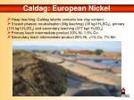 caldag european nickel