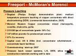 freeport mcmoran s morenci