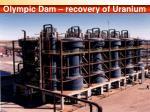 olympic dam recovery of uranium by bpcs