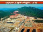 sepon copper project laos