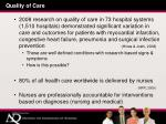 quality of care4