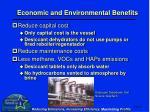 economic and environmental benefits