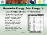 renewable energy solar energy 3