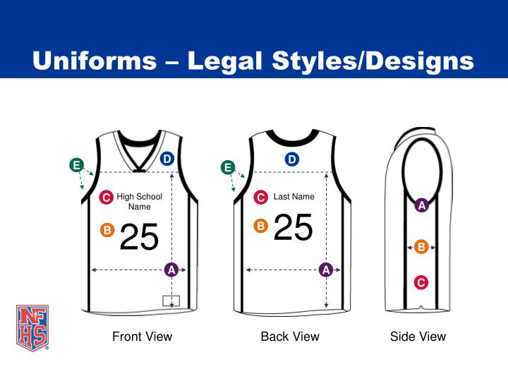 Uniforms legal styles designs3