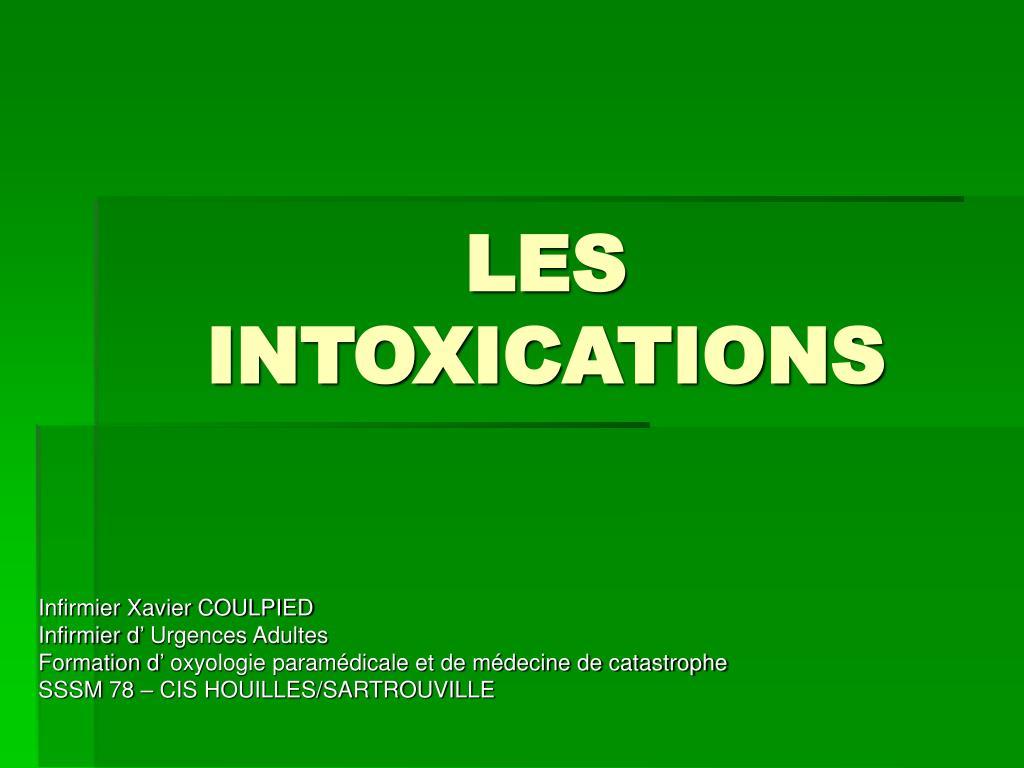 les intoxications l.
