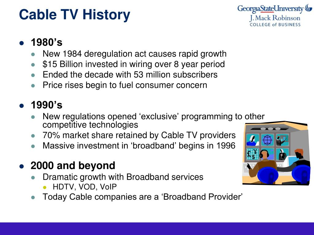 PPT - Cable Industry Analysis PowerPoint Presentation - ID