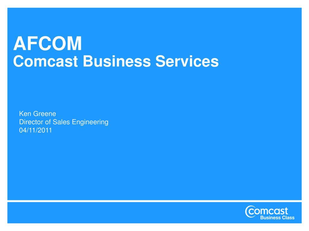 afcom comcast business services l.