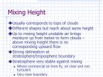 mixing height85