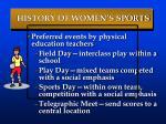 history of women s sports62