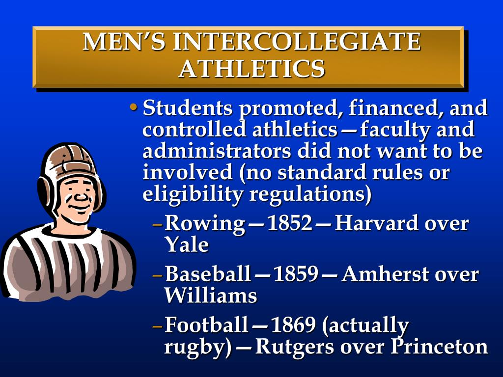 MEN'S INTERCOLLEGIATE ATHLETICS