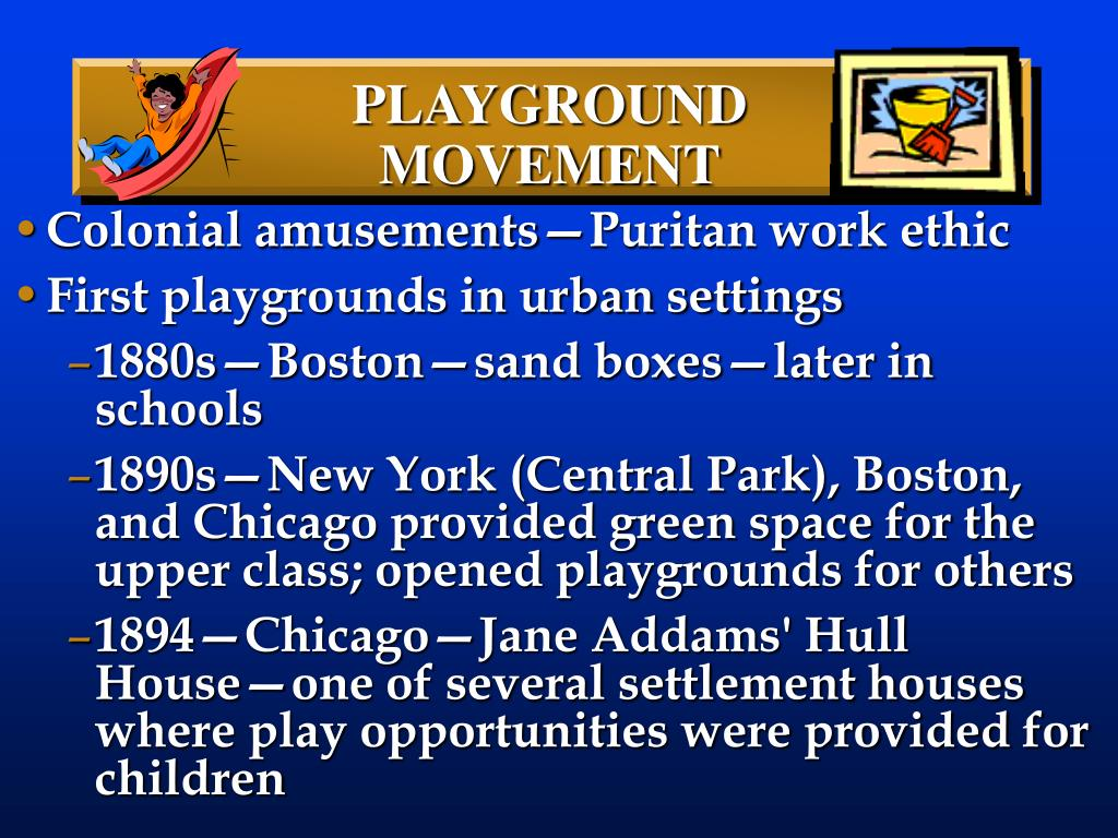 PLAYGROUND MOVEMENT