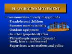 playground movement20