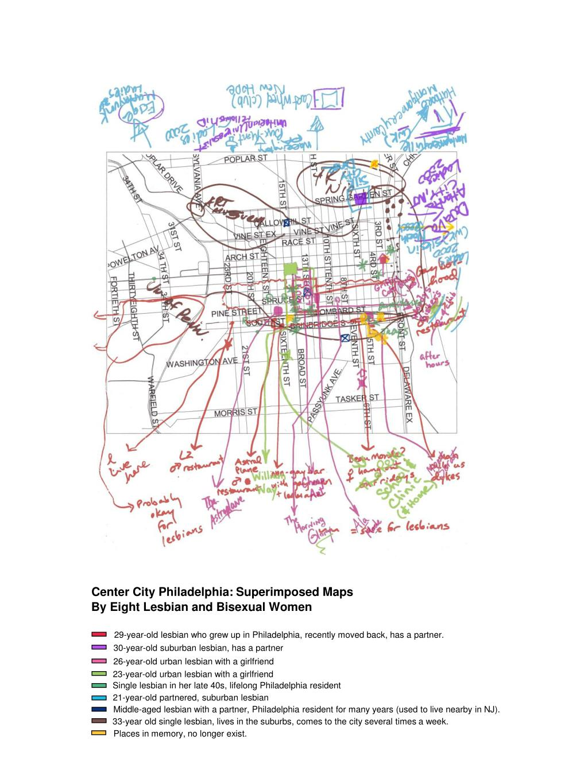 Center City Philadelphia: Superimposed Maps