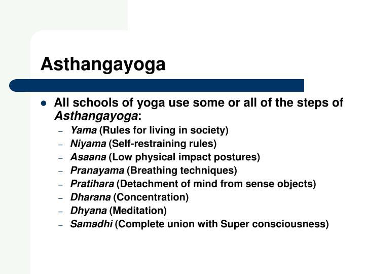 Asthangayoga