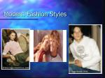 modern fashion styles
