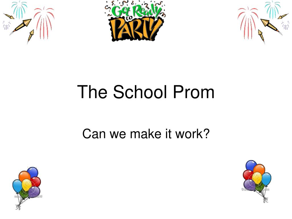 the school prom l.