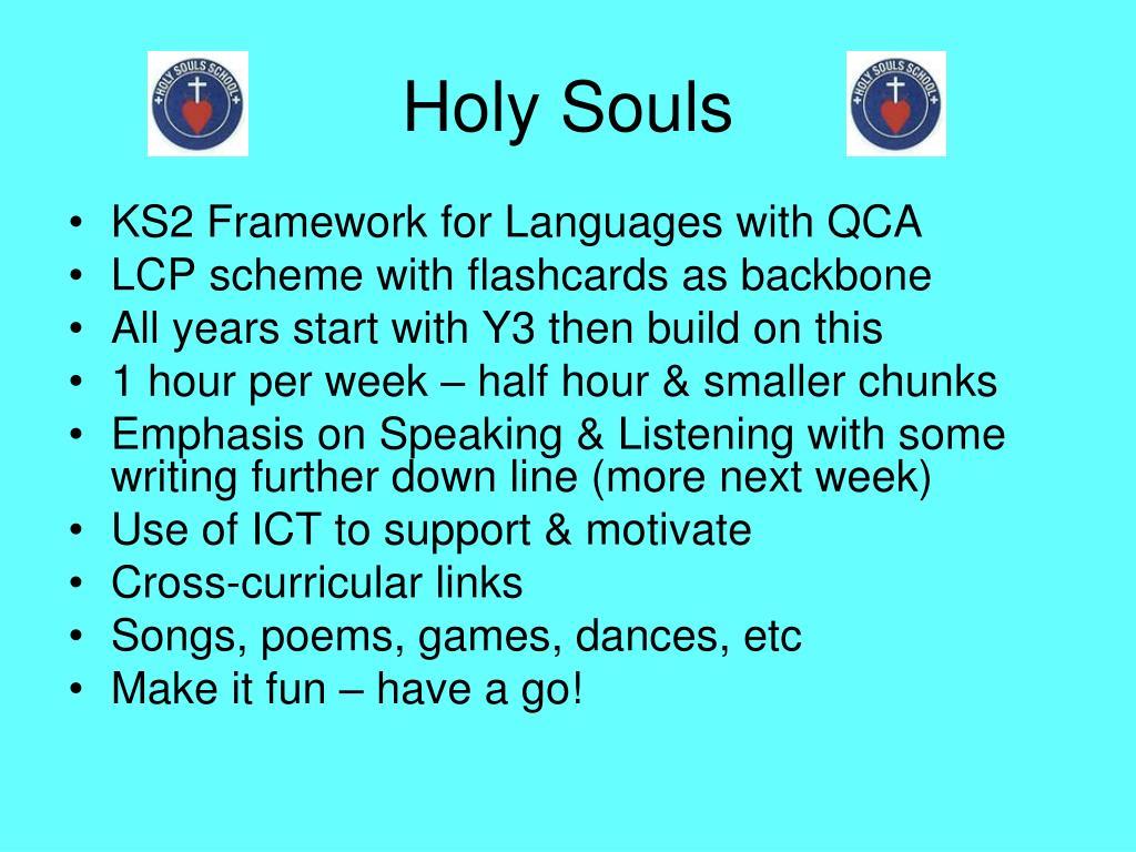 Holy Souls
