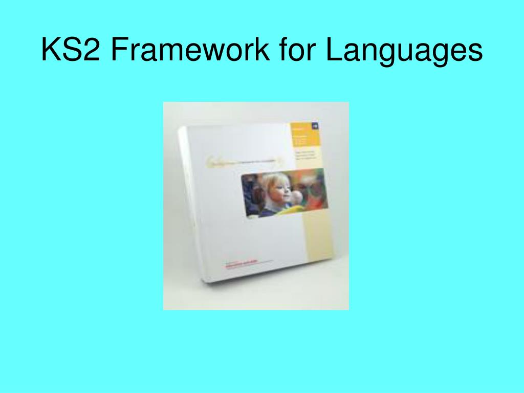 KS2 Framework for Languages