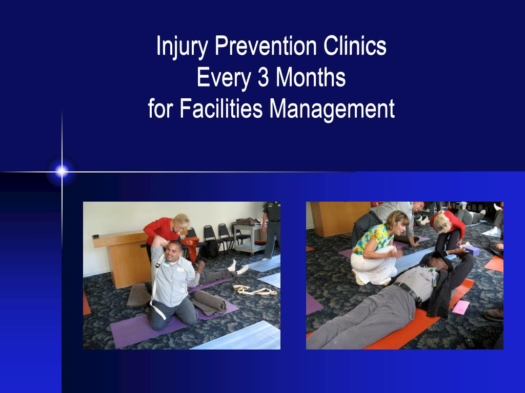Injury Prevention Clinics