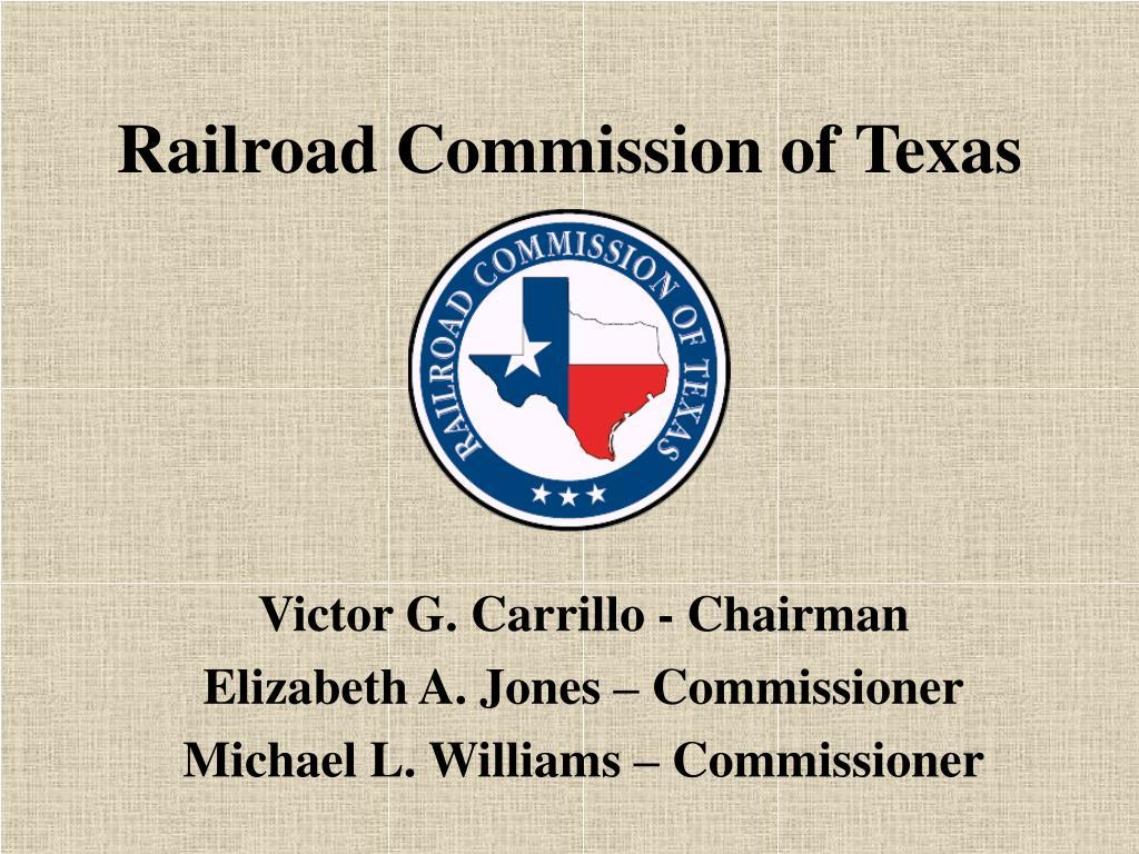 railroad commission of texas l.