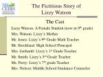the fictitious story of lizzy watson