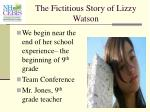 the fictitious story of lizzy watson26