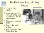 the fictitious story of lizzy watson34