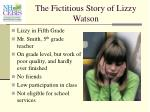 the fictitious story of lizzy watson37