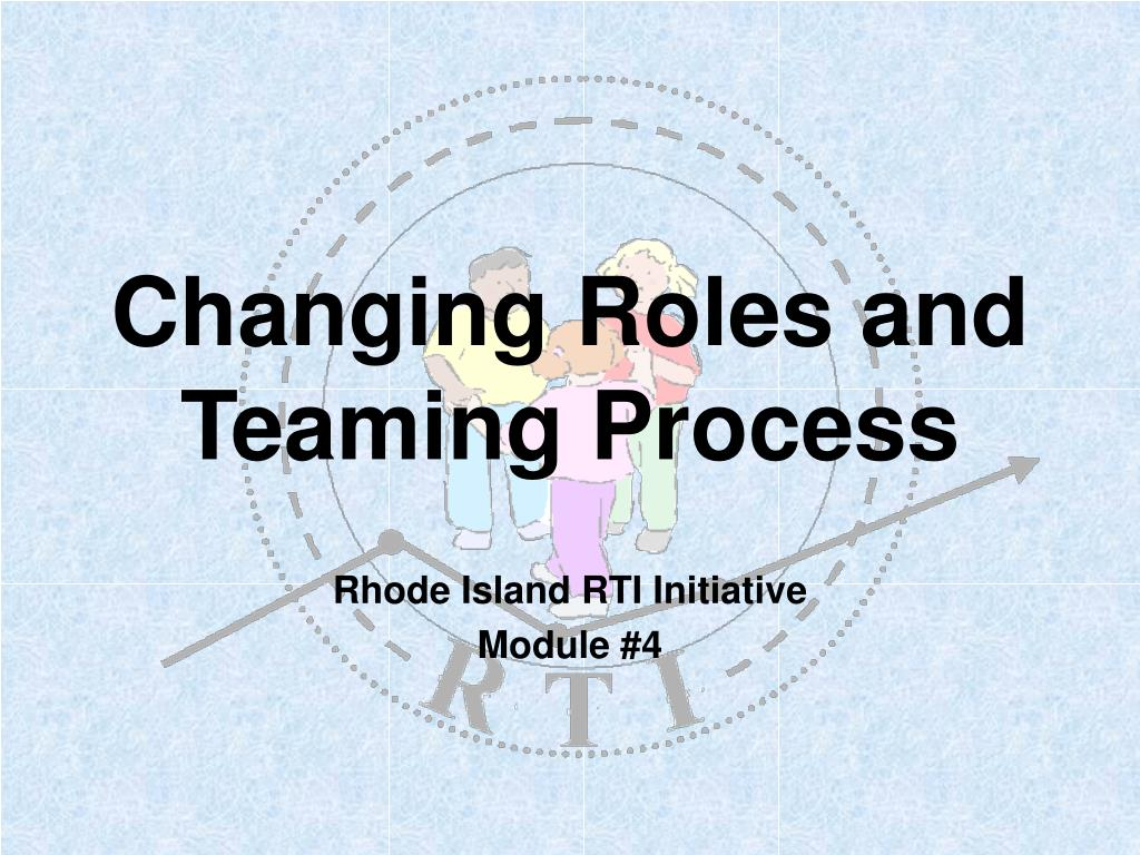 changing roles and teaming process l.