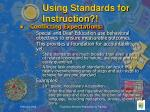 using standards for instruction3