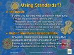 using standards