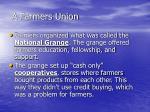 a farmers union