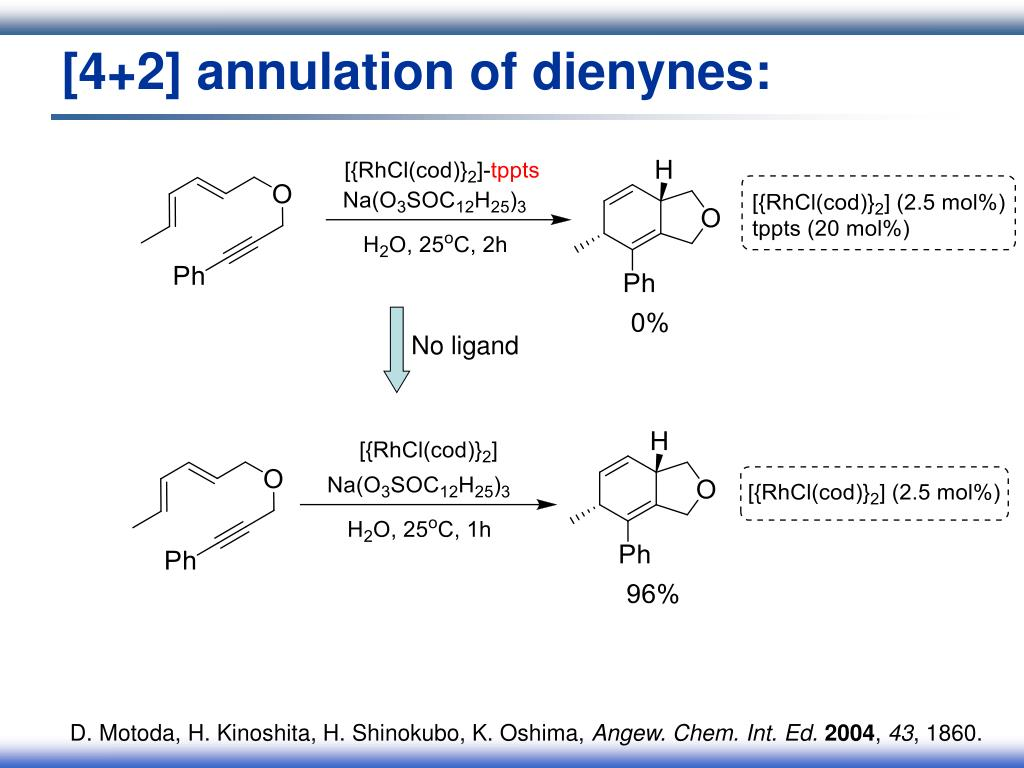 [4+2] annulation of dienynes: