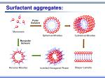 surfactant aggregates