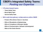 cber s integrated safety teams pooling our expertise