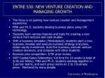 entre 530 new venture creation and managing growth