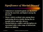 significance of marital discord3