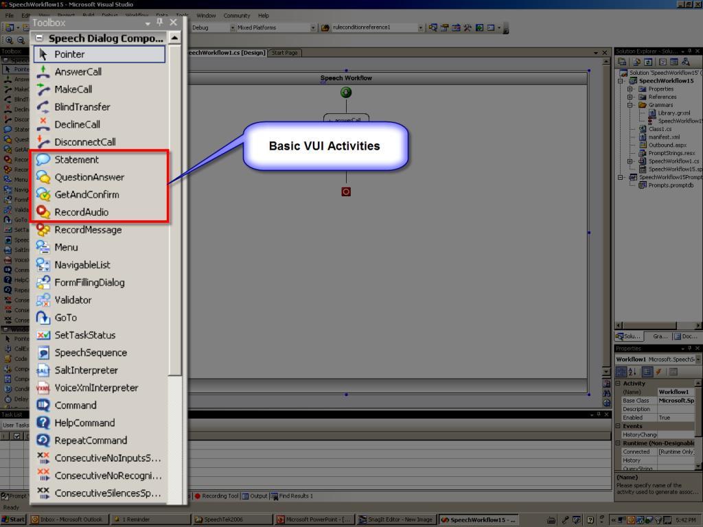Dialog Workflow Designer