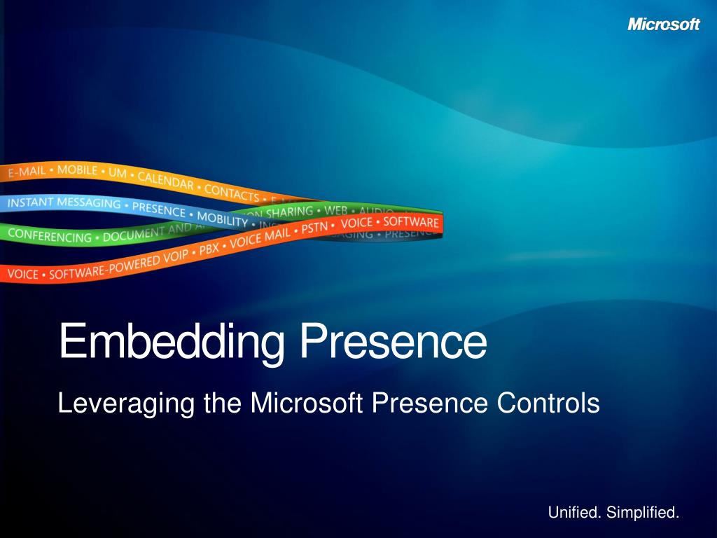 Embedding Presence
