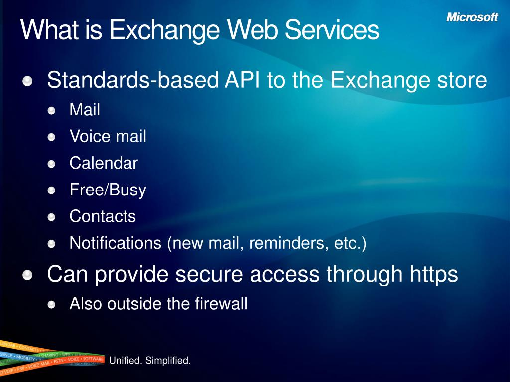 What is Exchange Web Services