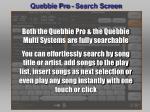 quebbie pro search screen26