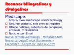 recursos biliograficos y divulgativos30
