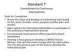 standard 7 commitment to continuous improvement18