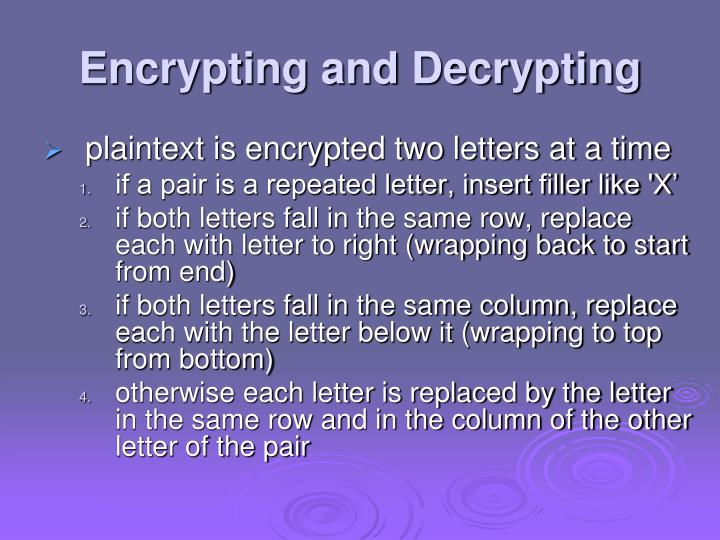 encrypt the plaintext below using the If you want to encrypt fully random data (such as an aes key) then you could right-pad your data using 64 bits set to zero then you could use ecb mode encryption (encrypt two blocks of 64 bits) and encrypt the two blocks of 128 bits.